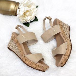 Ugg Elena Platform Wedge Sandals Sz 7